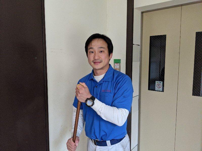 NPO法人日本ハウスクリーニング協会ボランティアお掃除の日:ボランティアお掃除写真その2